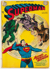 Superman #59 (DC, 1949) Condition: VG-