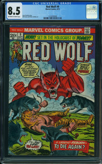 Red Wolf #9 (Marvel, 1973) CGC VF+ 8.5 Off-white to white pages