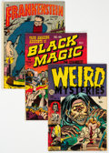 Golden Age (1938-1955):Horror, Golden Age Horror Group (Various Publishers, 1951-55) Condition: Average GD/VG.... (Total: 13 )