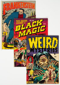Golden Age Horror Group (Various Publishers, 1951-55) Condition: Average GD/VG.... (Total: 13 )