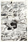 Original Comic Art:Panel Pages, Tom Sutton Werewolf by Night #9 Story Page 4 Original Art (Marvel, 1973)....