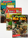 Golden Age (1938-1955):War, DC Golden Age War Comics Group of 6 (DC, 1954-55) Condition: Average VG+.... (Total: 6 )