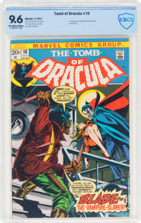 Tomb of Dracula #10 (Marvel, 1973) CBCS NM+ 9.6 Off-white to white pages