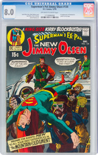 Superman's Pal Jimmy Olsen #134 (DC, 1970) CGC VF 8.0 Off-white to white pages