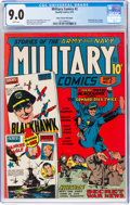 Golden Age (1938-1955):War, Military Comics #2 Mile High Pedigree (Quality, 1941) CGC VF/NM 9.0 White pages....