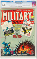 Golden Age (1938-1955):War, Military Comics #3 Mile High Pedigree (Quality, 1941) CGC NM/MT 9.8 White pages....