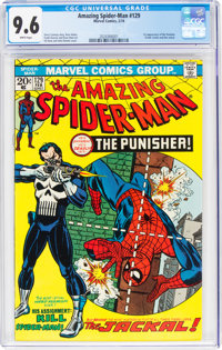 The Amazing Spider-Man #129 (Marvel, 1974) CGC NM+ 9.6 White pages