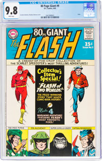80 Page Giant #9 The Flash (DC, 1965) CGC NM/MT 9.8 White pages