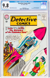 Detective Comics #321 (DC, 1963) CGC NM/MT 9.8 Off-white to white pages