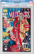 Modern Age (1980-Present):Superhero, The New Mutants #98 (Marvel, 1991) CGC NM/MT 9.8 Off-white to white pages....