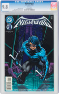 Modern Age (1980-Present):Superhero, Nightwing #1 (DC, 1996) CGC NM/MT 9.8 White pages....
