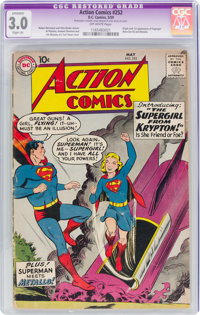 Action Comics #252 (DC, 1959) CGC Apparent GD/VG 3.0 Slight (A) Off-white pages