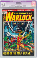 Bronze Age (1970-1979):Superhero, Warlock #1 (Marvel, 1972) CGC Apparent NM 9.4 Slight (A) Off-white to white pages....