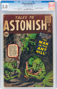 Tales to Astonish #27 (Marvel, 1962) CGC GD/VG 3.0 Cream to off-white pages