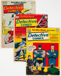 Golden Age (1938-1955):Superhero, Detective Comics Group of 4 (DC, 1950).... (Total: 4 )