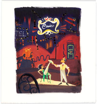 Lorelay Bove - Cyd Charisse and Gene Kelly from Singing In The Rain Painting Original Art (2015)