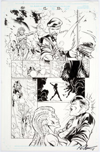 Anthony Williams and Andy Lanning Fantastic Four #12 Story Page 32 Original Art (Marvel, 1998)