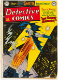 Golden Age (1938-1955):Superhero, Detective Comics #153 (DC, 1949) Condition: VG-....
