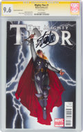 Modern Age (1980-Present):Superhero, The Mighty Thor #1 Charest Variant Cover - Signature Series - Stan Lee (Marvel, 2011) CGC NM+ 9.6 White pages....