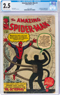 Silver Age (1956-1969):Superhero, The Amazing Spider-Man #3 (Marvel, 1963) CGC GD+ 2.5 Cream to off-white pages....