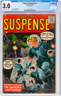 Tales of Suspense #1 (Marvel, 1959) CGC GD/VG 3.0 Cream to off-white pages