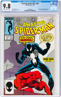 The Amazing Spider-Man #287 (Marvel, 1987) CGC NM/MT 9.8 Off-white to white pages