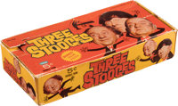 """1966 Fleer """"The Three Stooges"""" Wax Box With 23 Unopened Packs"""