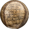Autographs:Baseballs, This item is currently being reviewed by our catalogers and photographers. A written description will be available along with high resolution images soon.