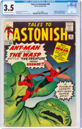 Silver Age (1956-1969):Superhero, Tales to Astonish #44 (Marvel, 1963) CGC VG- 3.5 Off-white to white pages....
