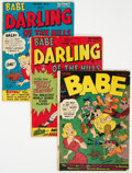 Golden Age (1938-1955):Humor, Babe #5 and 9-11 Group (Prize, 1949-50) Condition: Average GD+.... (Total: 4 )