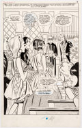 Original Comic Art:Splash Pages, Stan Goldberg and Mike Esposito Millie the Model Annual #6 Splash Page 6 Original Art (Marvel, 1967)....
