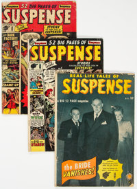 Suspense Group of 4 (Atlas, 1949-51) Condition: Average VG-.... (Total: 4 )