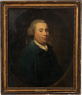 Antiques:Decorative Americana, John Adams: Portrait Attributed to John Singleton Copley....