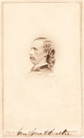 Photography:CDVs, George Armstrong Custer: Rare Carte de Visite By Brady....