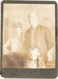 Photography:Studio Portraits, Cole Younger: An Important Small Sepia Tone gelatin Print Image Of Younger....