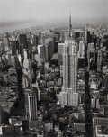 Photographs, Marilyn Bridges (American, b. 1948). Empire State Building, New York City, 1988. Oversized gelatin silver. 37-3/4 x 29-7...