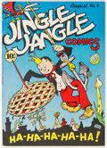 Golden Age (1938-1955):Humor, Jingle Jangle Comics #4 (Eastern Color, 1943) Condition: VF+....