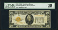Fr. 2402* $20 1928 Gold Certificate Star. PMG Very Fine 25