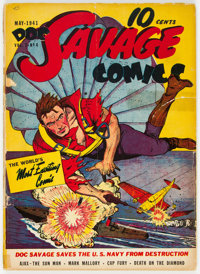 Doc Savage Comics #4 (Street & Smith, 1941) Condition: GD-