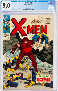 X-Men #32 (Marvel, 1967) CGC VF/NM 9.0 White pages