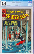 Silver Age (1956-1969):Superhero, The Amazing Spider-Man #33 (Marvel, 1966) CGC NM 9.4 Off-white to white pages....