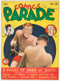 Comics On Parade #16 (United Feature Syndicate, 1939) Condition: FN/VF