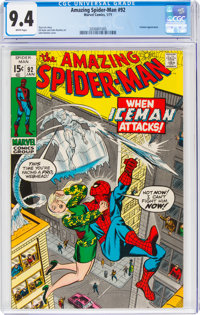The Amazing Spider-Man #92 (Marvel, 1971) CGC NM 9.4 White pages