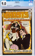 Bronze Age (1970-1979):Horror, Ghosts #1 (DC, 1971) CGC VF/NM 9.0 Off-white to white pages....