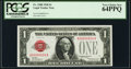 Low Serial Number 524 Fr. 1500 $1 1928 Legal Tender Note. PCGS Very Choice New 64PPQ