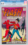 Silver Age (1956-1969):Superhero, The Flash #137 (DC, 1963) CGC VF 8.0 Off-white to white pages....
