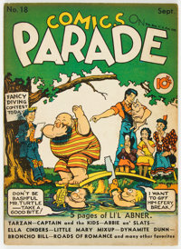 Comics On Parade #18 (United Feature Syndicate, 1939) Condition: FN-
