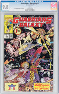 Modern Age (1980-Present):Superhero, Guardians of the Galaxy #1 (Marvel, 1990) CGC NM/MT 9.8 White pages....