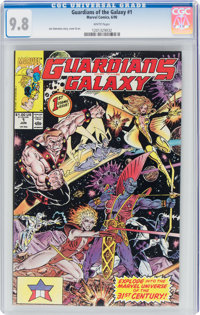 Guardians of the Galaxy #1 (Marvel, 1990) CGC NM/MT 9.8 White pages