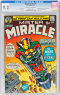 Bronze Age (1970-1979):Superhero, Mister Miracle #1 (DC, 1971) CGC NM- 9.2 Off-white to white pages....